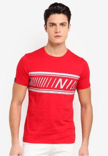 Volkswagen 紅色 短袖印花T恤 8D700AA2D70A63GS_1
