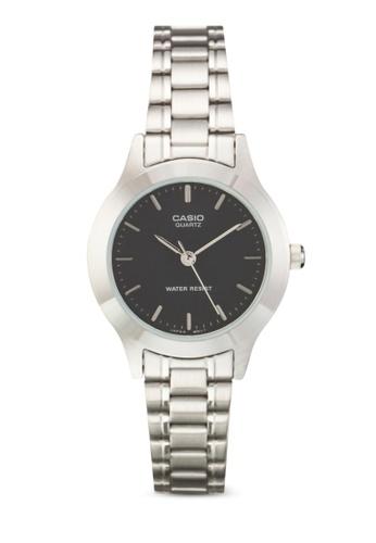Casio silver Casio Women's Silver Stainless Steel Strap Watch CA843AC31SPSMY_1