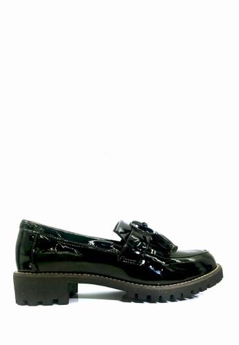 Twenty Eight Shoes 黑色 復古流蘇樂福鞋 VL8382 E3670SH4871B37GS_1