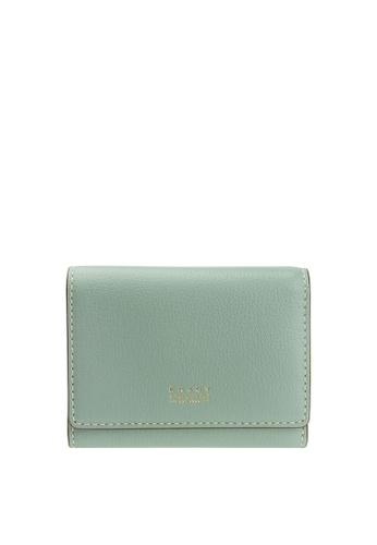 Enjoybag blue Smart Core`s Italian Goat Leather Smart Core Card Holder EN763AC99CNWHK_1