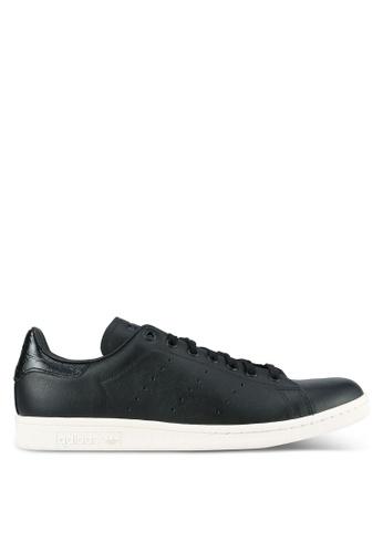 adidas black adidas originals stan smith AD372SH0S846MY 1 29ad0f895
