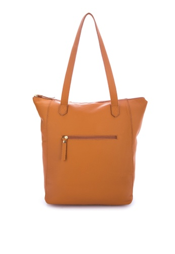 d4e35af1847 Shop Costal Leather Bags Macy Vertical Zip Tote Online on ZALORA Philippines