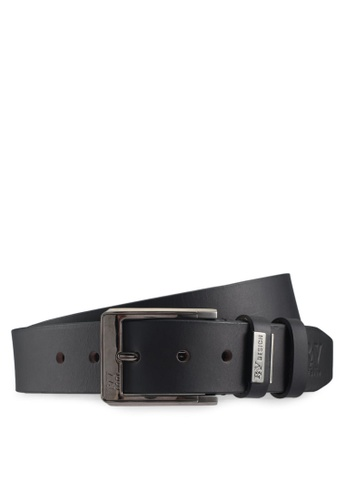 RAV Design black 40MM Leather Belt C5ED8AC39DB14BGS_1