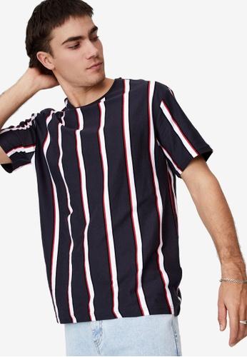 Cotton On navy Downtown T-Shirt B0970AA2ED2795GS_1