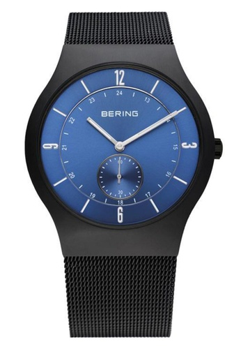 Bering blue Classic 11940-227 Blue 40 mm Men's Watch 9F039ACB463B60GS_1