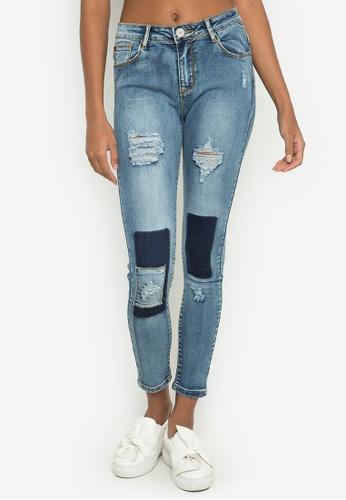 Hot Kiss navy Ladies Pants Jeans HO592AA0JSDIPH_1