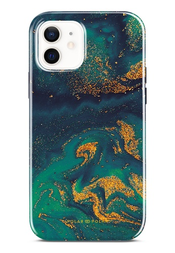Polar Polar green Green Night Quicksand Dual-Layer Tough Case Glossy For iPhone 12 Pro / iPhone 12 E0234ACCB508B8GS_1