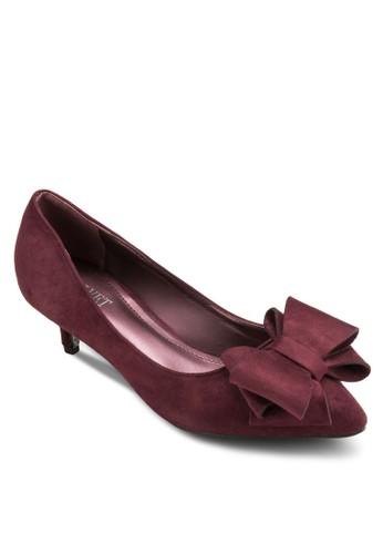 Joyzalora 心得ce 蝴蝶結低跟鞋, 女鞋, 鞋