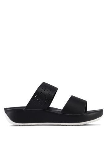 VINCCI black Strappy Sandals 7774ASH018304CGS_1