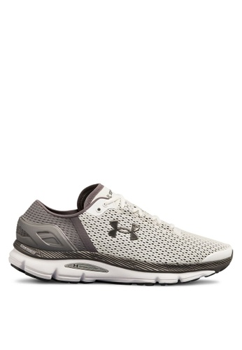 Under Armour white UA Speedform Intake 2 Running Shoes 16AD0SH07675EFGS_1