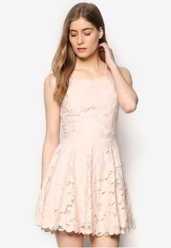 Candell 蕾絲細肩帶洋裝,esprit home 台灣 服飾, 裙子