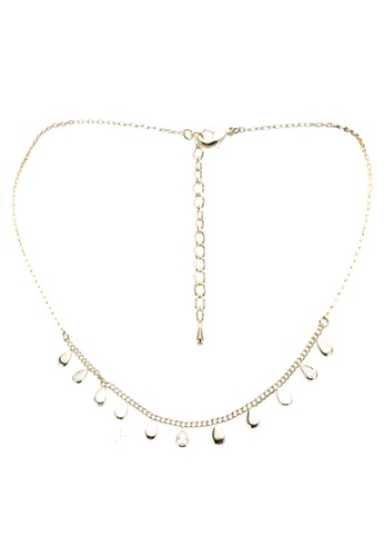 GLOBAL WORK white Teardrops Necklace CDFCEACCED3166GS_1