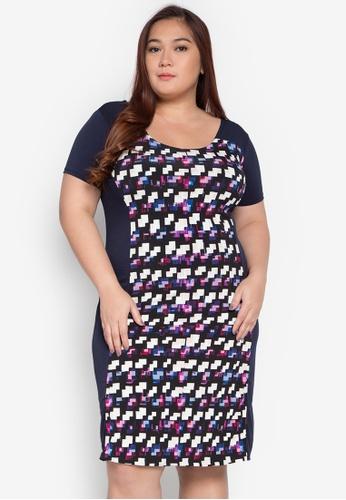 Lulu multi Plus Size Dolly Dress LU439AA0KL2GPH_1