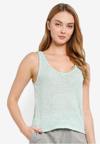 Cotton On Body blue Summer Lounge Tank Top 55C29AAA12F150GS_1