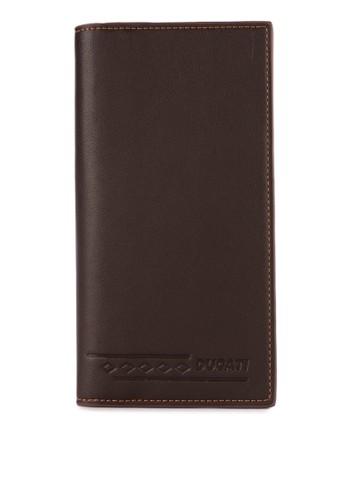 DucatI brown Men Wallet 33396AC0BDE62BGS_1