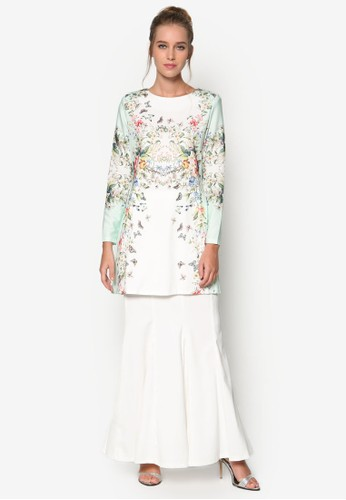蝴蝶esprit 工作民族風套裝, 服飾, 女性服飾