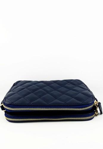 Jual Baglis Celine Sling Bag Two Zip Tas Wanita - Biru Tua ...