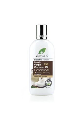 Holland & Barrett Dr Organic Virgin Coconut Oil Conditioner 265ml 44C83ES444FF98GS_1