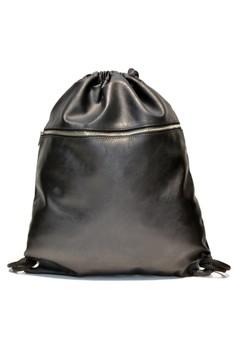 Hanz Big Plain Silver Accessories Drawstring Bag - One Size