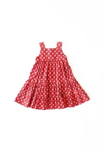 YeoMama Batik red Little Star Batik Sundress 681C0KAB1BA2D5GS_1