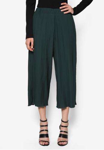 起褶寬鬆長褲, 服飾,esprit台灣官網 服飾