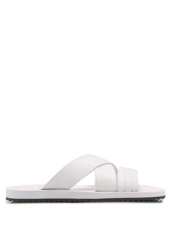ALDO white Agreillan Sandals ABDE7SHEDED045GS_1