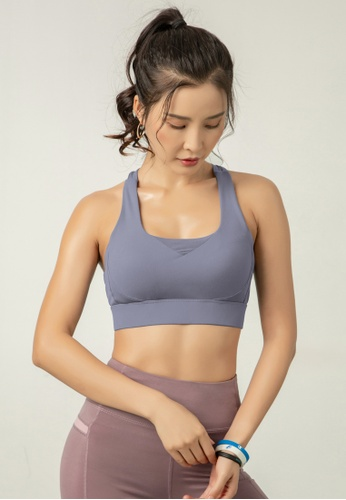HAPPY FRIDAYS Women's High Support Sports Bra DK-WX20 2CB98AAAD69A65GS_1