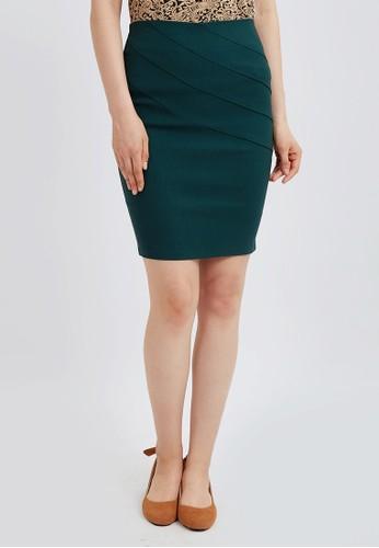 Blanik green Blanik Helen Pencil Skirt 5F63BAA431003CGS_1