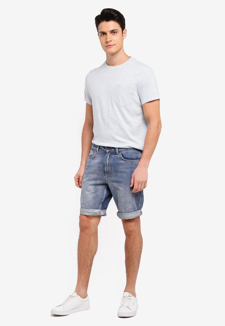 Wills Shirt Blue T Barnhill Jack Stripe Sky IOnBxw4