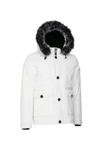 Universal Traveller white Universal Traveller Short Trendy Down Jacket - DJ 9038 A2795AA46814FFGS_1