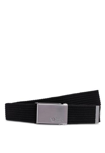 Fjallraven Kanken black Merano Canvas Belt BEFB9AC818AA03GS_1