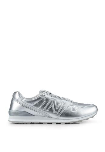 New Balance silver Classic 996 Classic Shoes 327E4SH8C37F43GS_1