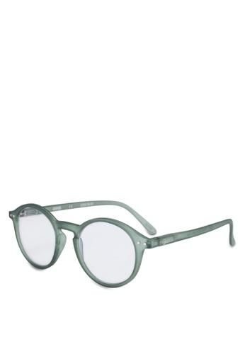 Izipizi 綠色 圓框太陽眼鏡 29761GL9187272GS_1