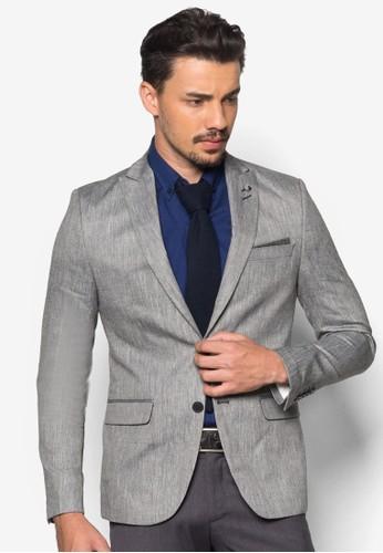 雙鈕合身西裝外套esprit 請人, 服飾, 外套