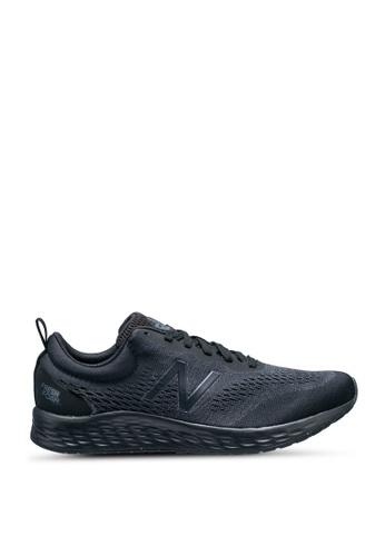 New Balance black Fresh Foam Arishi V3 Fitness Running Shoes 6FCB2SHC4E7DE8GS_1