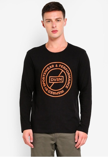 ESPRIT 黑色 長袖T恤 C0F5CAA3470CD5GS_1