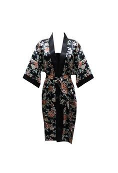 13a9adfcaf5fc Sorella green Kimono Print 7B790AA27C1769GS 1