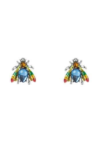 彩鑽耳環, 飾品配件, 飾zalora 包包評價品配件