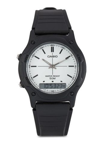 Casio black Casio White Casual Classic Watch CA843AC50SLDMY_1
