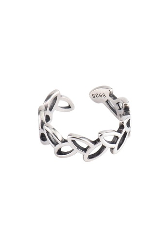 A-Excellence silver Premium S925 Sliver Geometric Ring 23A2DAC786E96EGS_1
