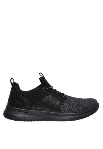 Skechers black Delson - Camben Sneakers 713A9SH8DEC3FEGS_1