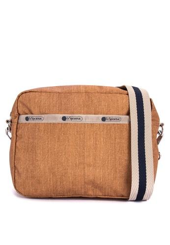 Lesportsac Brown Austin Crossbody Bag 8d16aac339328bgs 1