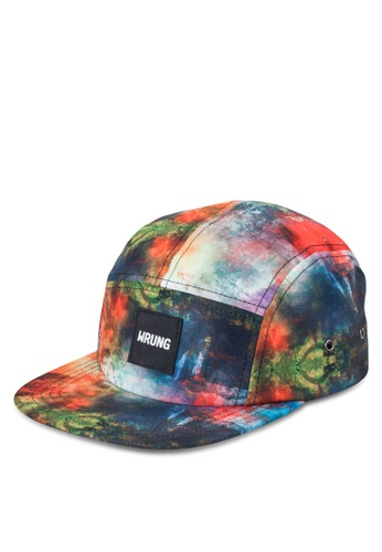 Wrung multi Abstract Cap WR395AC03MOYMY_1