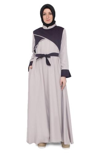 Java Seven Muslimwear grey Rahsheda 998 24348AA8CD1C9CGS_1