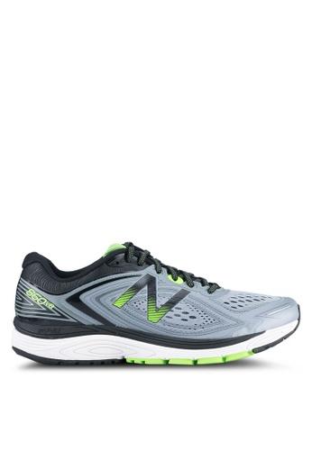New Balance grey and green 860 NBX Performance Running Shoes NE323SH0SS07MY_1
