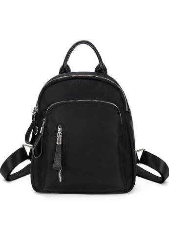 Twenty Eight Shoes black VANSA Nylon Oxford Backpacks VBW-Bp8214 04395AC0BD1342GS_1