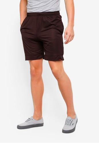 UniqTee black Jogging Style Bermuda Shorts 7928EAA4F58B72GS_1