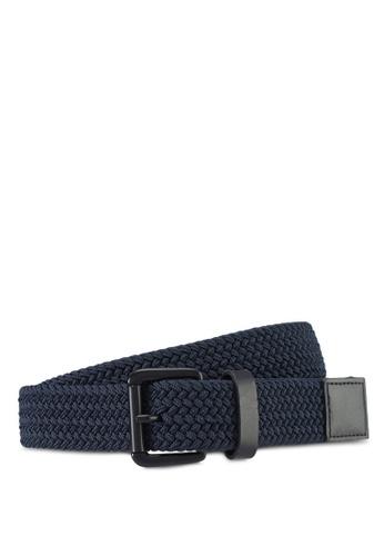 Jack Wills navy Elasticated Belt 2AD84AC7D82478GS_1