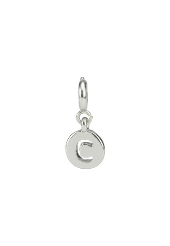 My Flash Trash silver Silver letter charm c CF049AC08DAD39GS_1