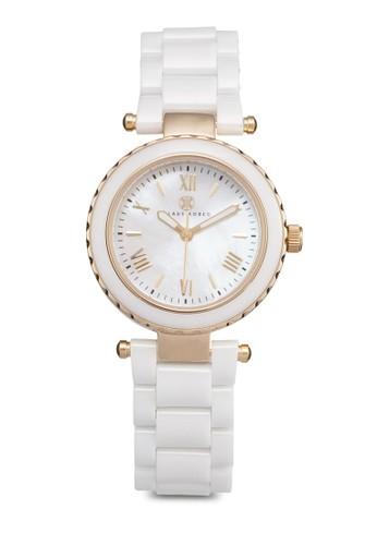 Venus 羅馬數字陶esprit hong kong瓷手錶, 錶類, 飾品配件
